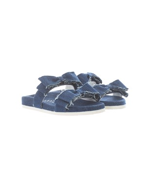 JOSHUA SANDERS - DENIM BOW SLIPS
