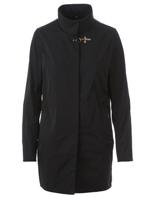 FAY - BLACK DUSTER COAT