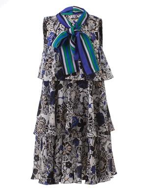 MSGM - FLORAL PRINT DRESS