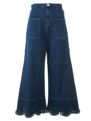 SEE BY CHLOE' - FRINGED JEANS