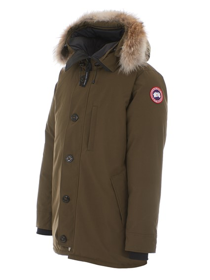 canada goose army green