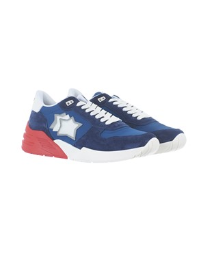 ATLANTIC STAR - RED AND BLUE MARS SNEAKERS