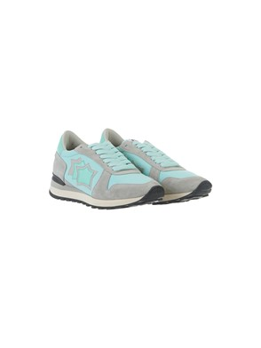 ATLANTIC STAR - GREY AND TURQUOISE GREEN ALHENA SNEAKERS