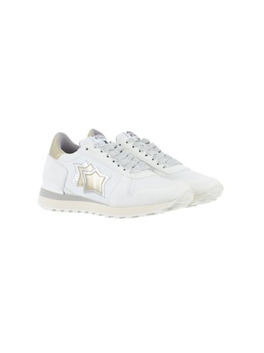 ATLANTIC STAR - SILVER AND GOLD ALHENA SNEAKERS