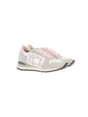 ATLANTIC STAR - GREY AND PINK ALHENA SNEAKERS