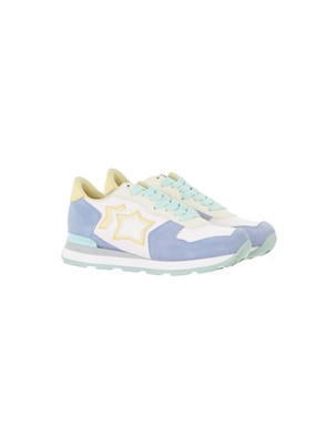 ATLANTIC STAR - YELLOW AND LIGHT BLUE VEGA SNEAKERS