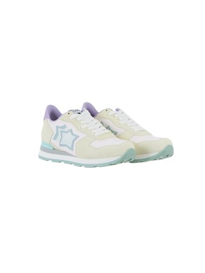 ATLANTIC STAR - CREAM AND LILAC VEGA SNEAKERS