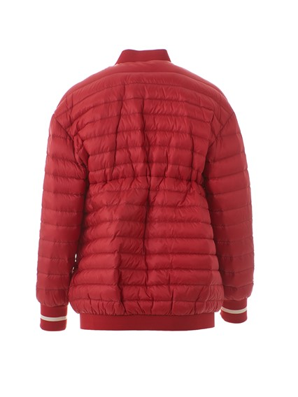 giacca moncler rossa