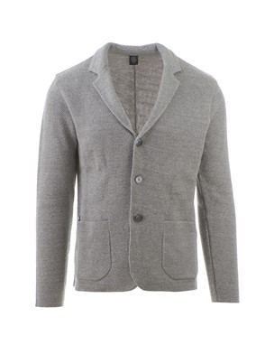 ELEVENTY - GREY COTTON JACKET
