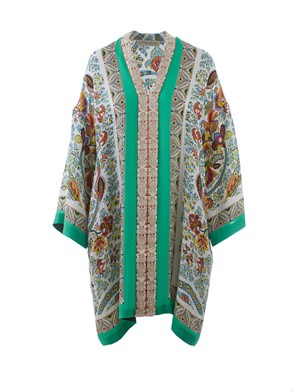 ETRO - MULTICOLOR PAISLEY DRESS