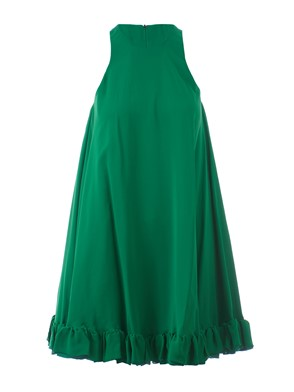 MSGM - GREEN MAXI DRESS