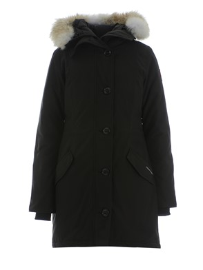 CANADA GOOSE - BLACK ROSSCLAIRE PARKA