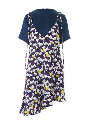KENZO - FLORAL T-SHIRT DRESS