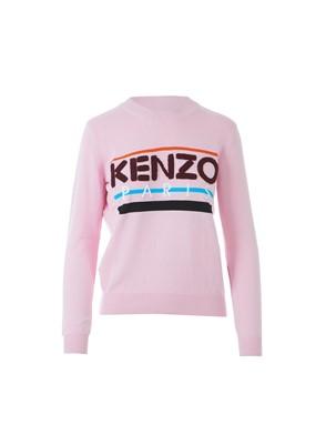 KENZO - PINK LOGO SWEATSHIRT