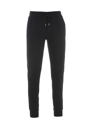 MONCLER - BLACK SWEATPANTS