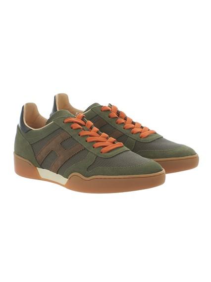 Army green H357 sneakers Hogan AHcHO