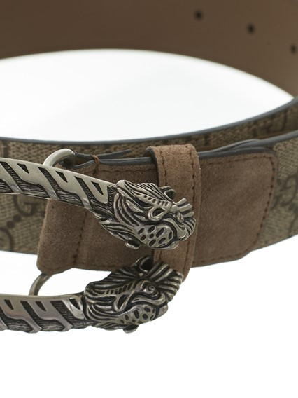 a7f6fb8ce gucci GG SUPREME DIONYSUS BELT available on lungolivigno.com - 24361