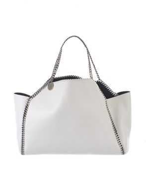 STELLA MC CARTNEY - SHOPPING FALABELLA GRIGIO