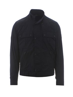 BELSTAFF - BLUE FOUR-POCKETS JACKET