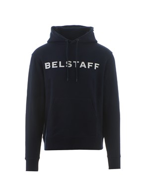 BELSTAFF - MIDNIGHT BLUE LOGO SWEATSHIRT