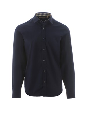 BURBERRY - MIDNIGHT BLUE CAMBRIDGE SHIRT