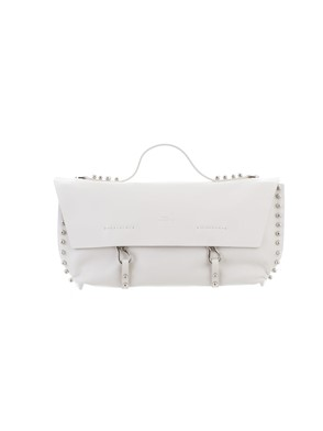 DESA 1972 - WHITE STUDDED SPUNK BAG