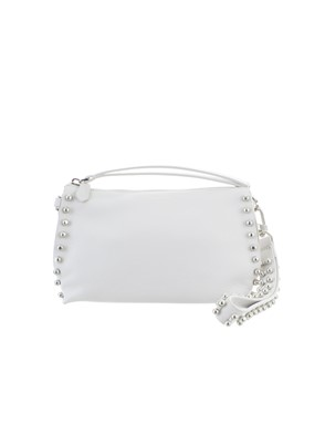 DESA 1972 - WHITE STUDDED CROSSBODY BAG