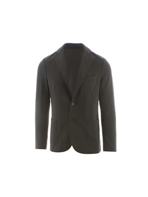 ELEVENTY - GREEN SINGLE-BREASTED JACKET