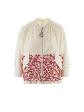 MONCLER - WHITE IRISH JACKET