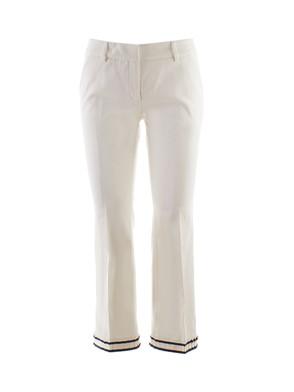 TRUE ROYAL - WHITE SANDY PANTS