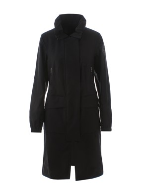 PEUTERY ICON - BLACK SHAKA DUSTER COAT