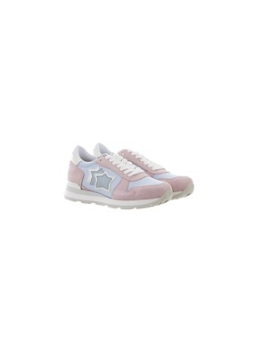 ATLANTIC STAR - PINK AND LIGHT BLUE GEMMA SNEAKERS