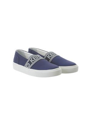 KENZO - BLUE KAPRI SLIP-ONS