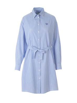 KENZO - STRIPED SHIRT DRESS