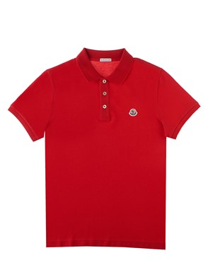 MONCLER - RED POLO