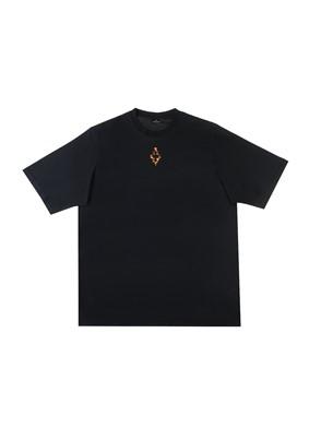 MARCELO BURLON - BLACK CROSS T-SHIRT