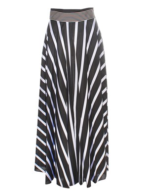 DIANE VON FURSTENBERG - BLACK AND WHITE SKIRT