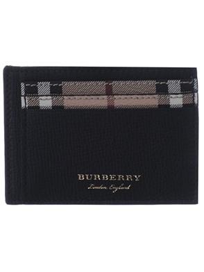 BURBERRY - BLACK MS BERNIE CARD HOLDER