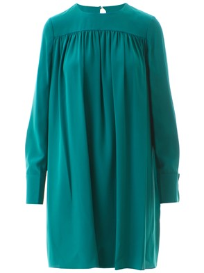 DIANE VON FURSTENBERG - TURQUOISE TUNIC DRESS