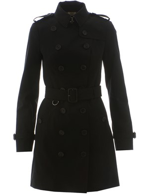 BURBERRY - BLACK DUSTER COAT
