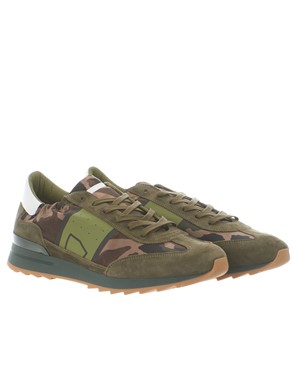 PHILIPPE MODEL - SNEAKER TOUJOURS CAMOUFLAGE VERDE