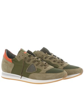 PHILIPPE MODEL - GREEN TROPEZ HIGH SNEAKERS
