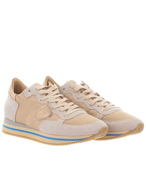PHILIPPE MODEL - GOLD TROPEZ HIGH SNEAKERS