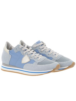 PHILIPPE MODEL - LIGHT BLUE TROPEZ HIGH SNEAKERS
