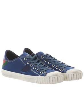 PHILIPPE MODEL - BLUE GARE SNEAKERS