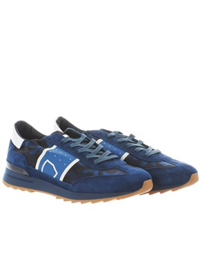 PHILIPPE MODEL - SNEAKER TOUJOURS CAMOUFLAGE BLU