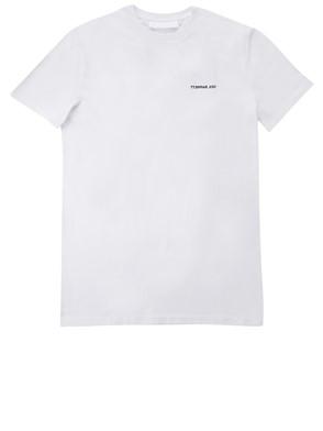 NEIL BARRET - WHITE PRINT T-SHIRT