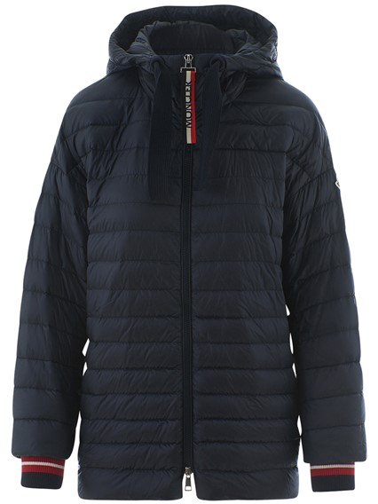 moncler giacca hoodie grey