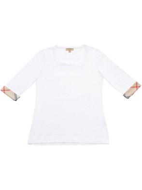 BURBERRY - WHITE T-SHIRT