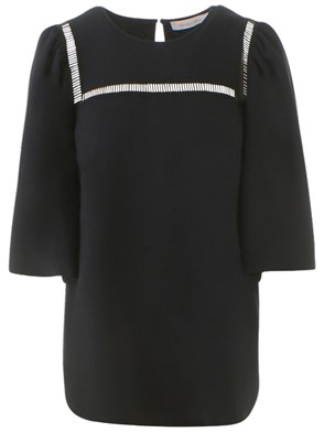 SEE BY CHLOE' - BLUSA NERA